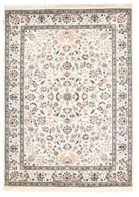 ナイン インド 絨毯 170X238 オリエンタル 手織り ベージュ/薄い灰色 ( インド)