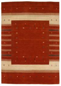 Loribaf ルーム 絨毯 167X240 モダン 手織り 錆色/深紅色の (ウール, インド)