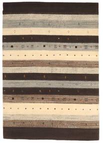 Loribaf ルーム 絨毯 169X239 モダン 手織り 濃い茶色/薄い灰色/ベージュ (ウール, インド)