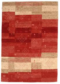 Loribaf ルーム 絨毯 170X248 モダン 手織り 錆色/薄茶色 (ウール, インド)