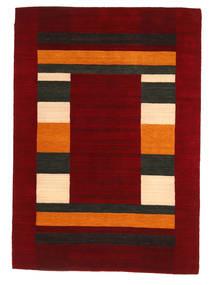 Loribaf ルーム 絨毯 168X237 モダン 手織り 深紅色の/赤 (ウール, インド)