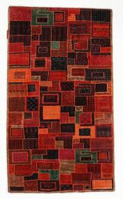 ギャッベ Loribaft 絨毯 75X131 モダン 手織り 深紅色の/錆色 (ウール, インド)