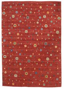 Loribaf ルーム 絨毯 165X240 モダン 手織り 錆色/深紅色の (ウール, インド)