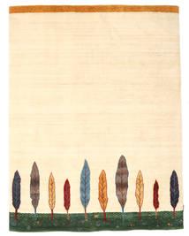 Loribaf ルーム 絨毯 153X200 モダン 手織り 黄色/ベージュ (ウール, インド)