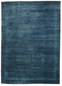 ギャッベ Loribaft 絨毯 197X276 モダン 手織り 紺色の (ウール, インド)