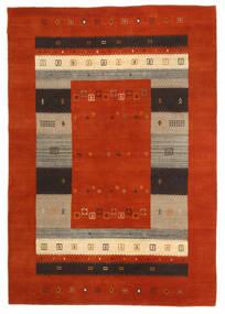 Loribaf ルーム 絨毯 163X234 モダン 手織り 錆色/濃い茶色 (ウール, インド)