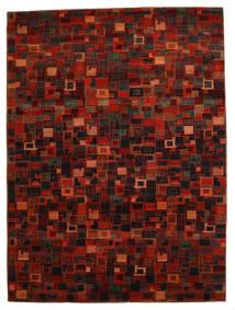 ギャッベ Loribaft 絨毯 260X351 モダン 手織り 深紅色の/赤 大きな (ウール, インド)