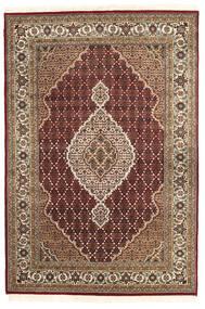 タブリーズ Royal 絨毯 167X248 オリエンタル 手織り 深紅色の/濃い茶色 ( インド)