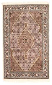 タブリーズ Royal 絨毯 112X183 オリエンタル 手織り 薄茶色/濃い茶色 ( インド)