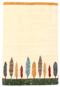 Loribaf ルーム 絨毯 120X177 モダン 手織り ベージュ (ウール, インド)