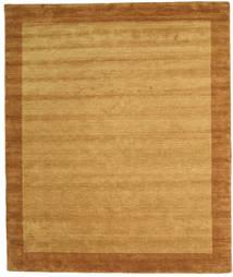 ハンドルーム Frame - ゴールド 絨毯 250X300 モダン 薄茶色/茶 大きな (ウール, インド)