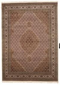 タブリーズ Royal 絨毯 248X349 オリエンタル 手織り 茶/濃い茶色 ( インド)