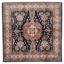 Loribaft ペルシャ 絨毯 198X200 モダン 手織り 正方形 濃い紫/深紅色の (ウール, ペルシャ/イラン)