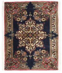 サルーク 絨毯 70X90 オリエンタル 手織り 濃い茶色/黒 (ウール, ペルシャ/イラン)