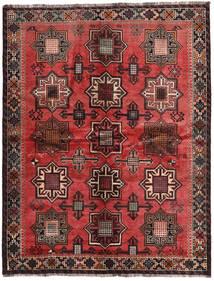 カシュガイ 署名: Kadamali Year 1374 (1995) 絨毯 167X213 オリエンタル 手織り 黒/濃い茶色 (ウール, ペルシャ/イラン)