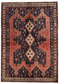 アフシャル 絨毯 160X225 オリエンタル 手織り 濃いグレー/深紅色の (ウール, ペルシャ/イラン)