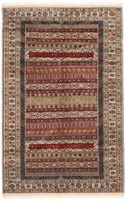 トルクメン 絨毯 162X246 オリエンタル 手織り 濃い茶色/薄茶色 (ウール, ペルシャ/イラン)