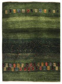 ギャッベ ペルシャ 絨毯 91X126 モダン 手織り 深緑色の/オリーブ色 (ウール, ペルシャ/イラン)