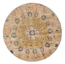 ヴィンテージ Heritage 絨毯 Ø 150 モダン 手織り ラウンド 暗めのベージュ色の/薄茶色 (ウール, ペルシャ/イラン)