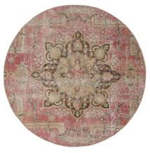 ヴィンテージ Heritage 絨毯 Ø 170 モダン 手織り ラウンド 茶/薄い灰色 (ウール, ペルシャ/イラン)