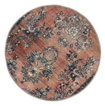 ヴィンテージ Heritage 絨毯 Ø 100 モダン 手織り ラウンド 薄茶色/黒 (ウール, ペルシャ/イラン)