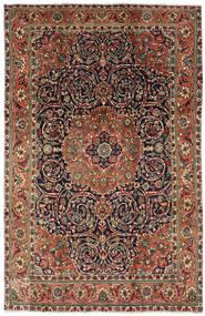 タブリーズ 絨毯 196X308 オリエンタル 手織り 濃い茶色/濃いグレー (ウール, ペルシャ/イラン)