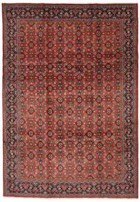 マハル 絨毯 219X313 オリエンタル 手織り 深紅色の/濃い茶色 (ウール, ペルシャ/イラン)