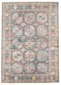 Mirage 絨毯 150X211 モダン 手織り 薄い灰色/ライトピンク (ウール, アフガニスタン)