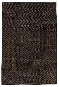 Moroccan Berber - Afghanistan 絨毯 197X285 モダン 手織り 黒 (ウール, アフガニスタン)