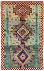 Moroccan Berber - Afghanistan 絨毯 113X183 モダン 手織り 深紅色の/深緑色の (ウール, アフガニスタン)