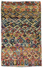 Moroccan Berber - Afghanistan 絨毯 117X182 モダン 手織り 濃いグレー/薄い灰色 (ウール, アフガニスタン)