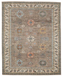 カザック Ariana 絨毯 249X311 モダン 手織り 濃い茶色/茶 (ウール, アフガニスタン)