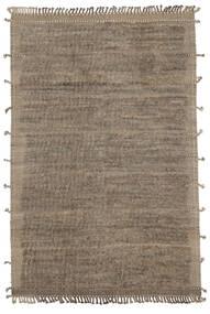 Moroccan Berber - Afghanistan 絨毯 203X307 モダン 手織り 黒/濃い茶色 (ウール, アフガニスタン)