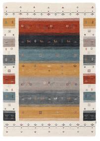 Loribaf ルーム Designer - Multi 絨毯 120X180 モダン 黄色/ベージュ (ウール, インド)