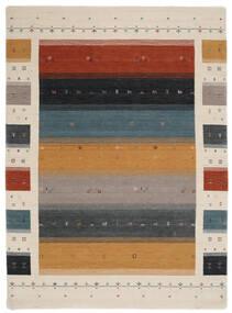 Loribaf ルーム Designer - Multi 絨毯 210X290 モダン 黒/薄い灰色 (ウール, インド)
