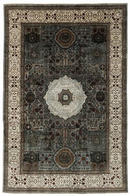 Mamlouk 絨毯 185X277 モダン 手織り 黒/濃い茶色 (ウール, アフガニスタン)