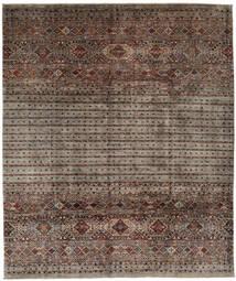 Shabargan 絨毯 253X303 モダン 手織り 濃い茶色/黒 大きな (ウール, アフガニスタン)