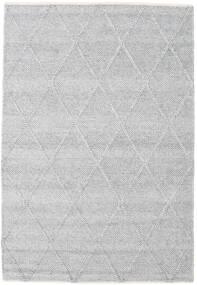 Svea - 二級品 絨毯 140X200 モダン 手織り 黒/濃いグレー (ウール, インド)