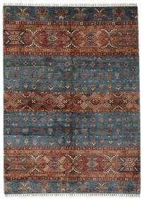 Shabargan 絨毯 180X247 モダン 手織り 黒/濃い茶色 (ウール, アフガニスタン)