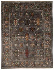 Ziegler Ariana 絨毯 158X204 オリエンタル 手織り 黒/濃い茶色 (ウール, アフガニスタン)