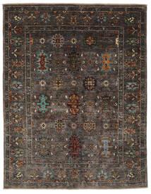 Ziegler Ariana 絨毯 158X197 オリエンタル 手織り 黒/濃い茶色 (ウール, アフガニスタン)