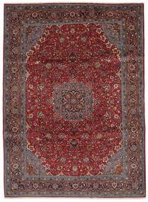 サルーク 絨毯 219X300 オリエンタル 手織り 黒/濃い茶色 (ウール, ペルシャ/イラン)