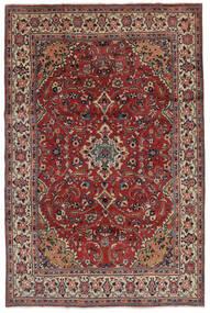 マハル 絨毯 207X319 オリエンタル 手織り 濃い茶色/黒 (ウール, ペルシャ/イラン)