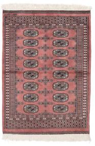 パキスタン ブハラ 2Ply 絨毯 80X110 オリエンタル 手織り 深紅色の/ベージュ (ウール, パキスタン)