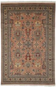 パキスタン ブハラ 2Ply 絨毯 185X274 オリエンタル 手織り 濃い茶色/黒 (ウール, パキスタン)