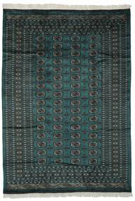 パキスタン ブハラ 2Ply 絨毯 180X255 オリエンタル 手織り 黒/深緑色の (ウール, パキスタン)