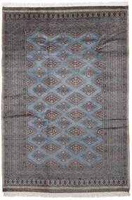 パキスタン ブハラ 2Ply 絨毯 170X250 オリエンタル 手織り 黒/濃いグレー (ウール, パキスタン)