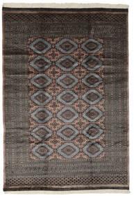 パキスタン ブハラ 3Ply 絨毯 194X281 オリエンタル 手織り 黒 (ウール, パキスタン)