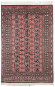 パキスタン ブハラ 2Ply 絨毯 121X182 オリエンタル 手織り 深紅色の/黒 (ウール, パキスタン)