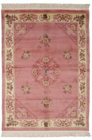 中国 90 Line 絨毯 170X230 オリエンタル 手織り 深紅色の/茶 (ウール, 中国)